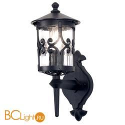 Уличный настенный светильник Elstead Lighting Hereford BL10 BLACK