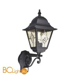 Уличный настенный светильник Elstead Lighting Norfolk NR1 PIR BLACK