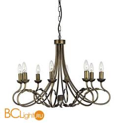 Люстра Elstead Lighting Olivia OV8 BLK/GOLD
