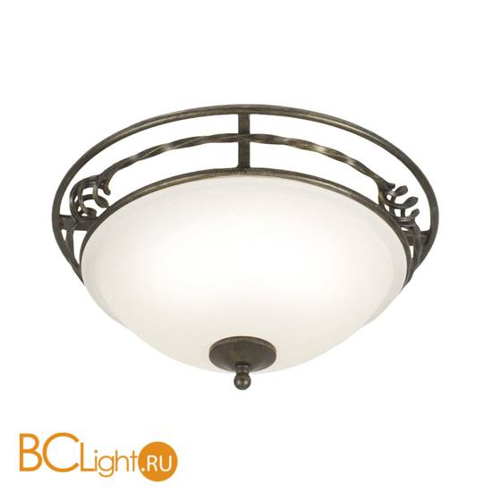 Потолочный светильник Elstead Lighting Pembroke PB/F/A BLK/GOLD