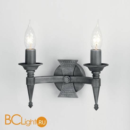 Бра Elstead Lighting Saxon SAX2 BLK/SIL