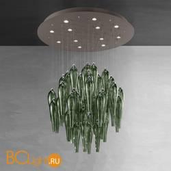 Потолочный светильник Euroluce Abstract 90 Gray Viridian
