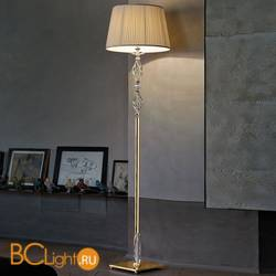 Торшер Euroluce Alicante PT1 gold Clear