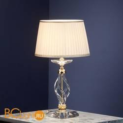 Настольная лампа Euroluce Alicante LP1 gold Clear shade