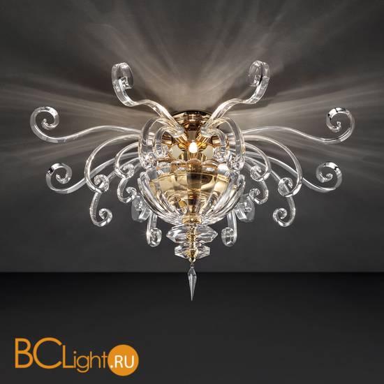 Потолочный светильник Euroluce Alicante PL4 gold Clear