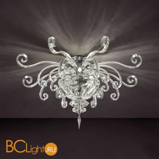 Потолочный светильник Euroluce Alicante PL4 silver Clear