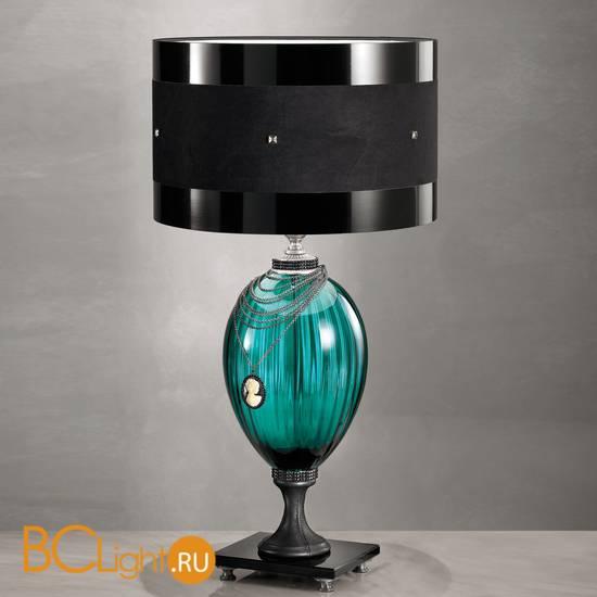 Настольная лампа Euroluce Audrey LG1 Cromo Green