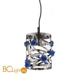 Подвесной светильник Euroluce Bora S1 SMALL nichel blue