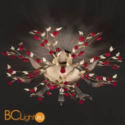 Потолочный светильник Euroluce Bora PL8 gold Red