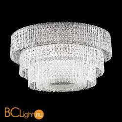 Потолочный светильник Euroluce Cascade PL82 chrome clear
