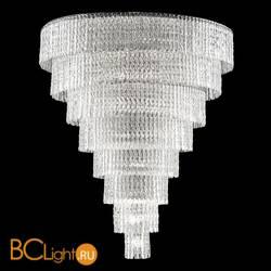 Подвесной светильник Euroluce Cascade 94 black nichel clear