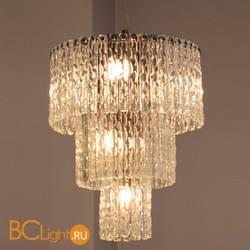 Подвесной светильник Euroluce Cascade 34 chrome clear
