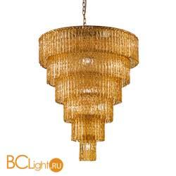 Подвесной светильник Euroluce Cascade 70 gold Amber