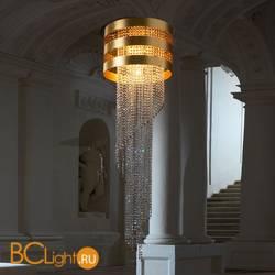 Подвесной светильник Euroluce Dafne Superlux S5 H150 Gold amber