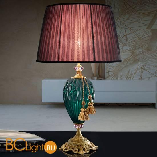 Настольная лампа Euroluce Diamond LG1 Verde