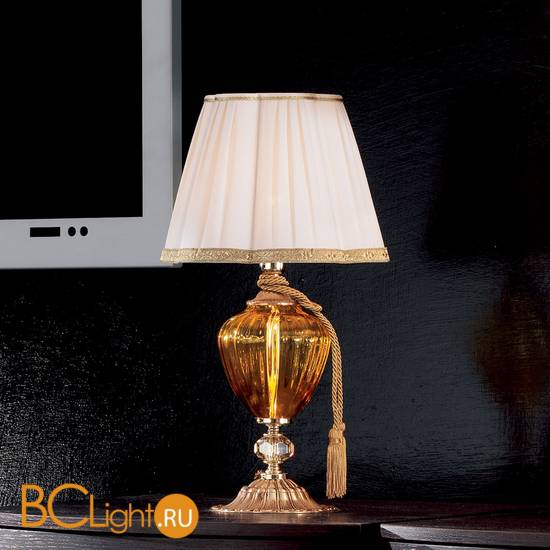 Настольная лампа Euroluce Donatello Alicante LP1 Amber