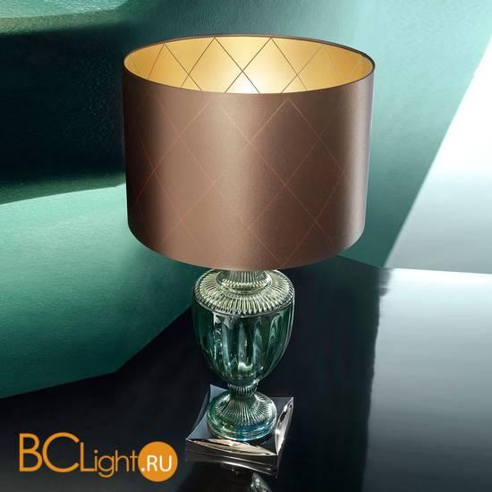Настольная лампа Euroluce Glam LG1 green