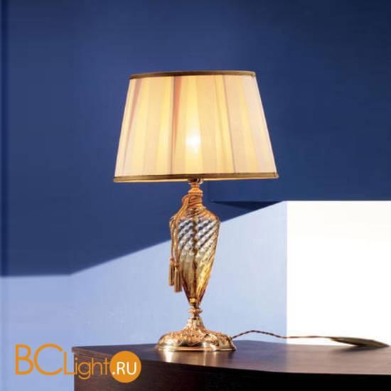Настольная лампа Euroluce Impero LG1 Amber