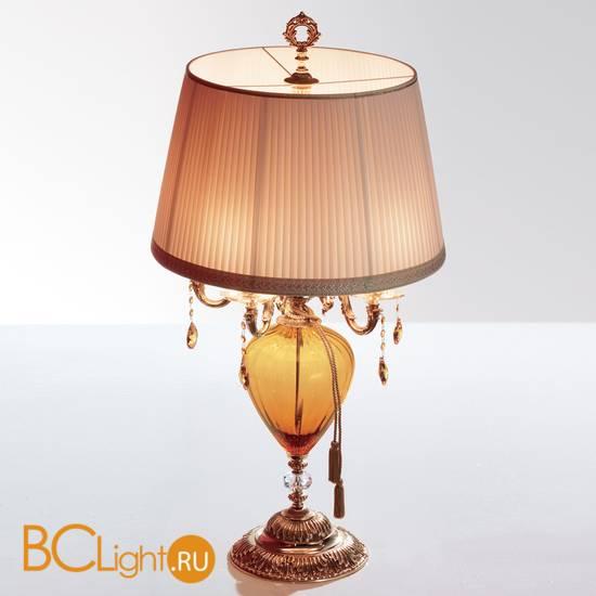 Настольная лампа Euroluce Impero LG5 Amber