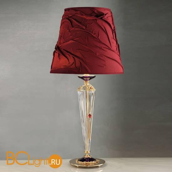 Настольная лампа Euroluce Julienne LG1 Gold Clear