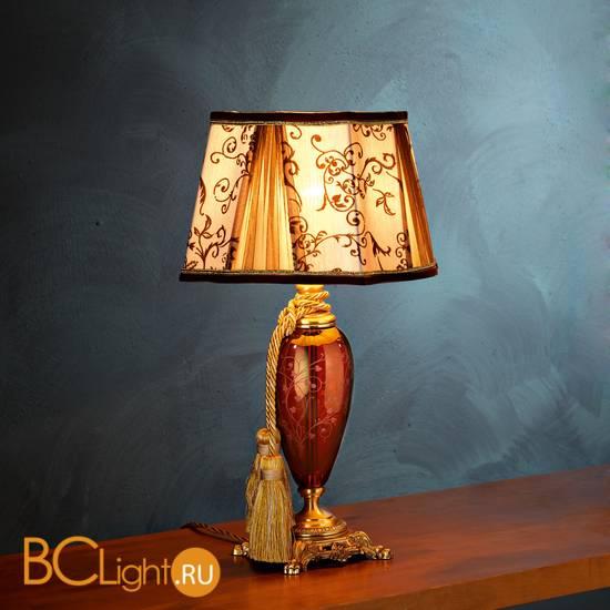 Настольная лампа Euroluce Lady LP1 gold Ruby