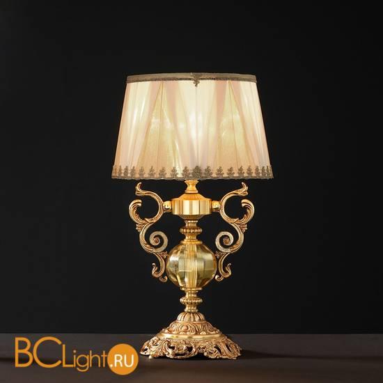 Настольная лампа Euroluce Lyra LP1 Gold Amber