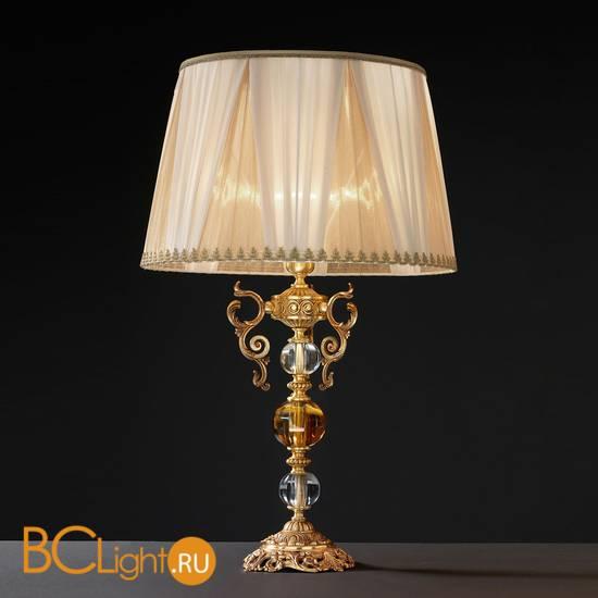 Настольная лампа Euroluce Lyra LG1 Gold Amber