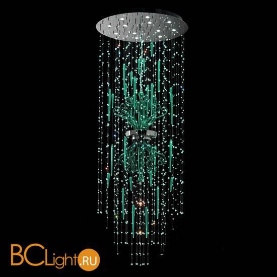Потолочный светильник Euroluce Meteorite 90 Green