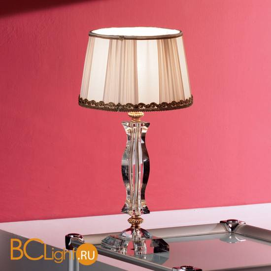 Настольная лампа Euroluce Midha Alicante LP1 Gold Clear