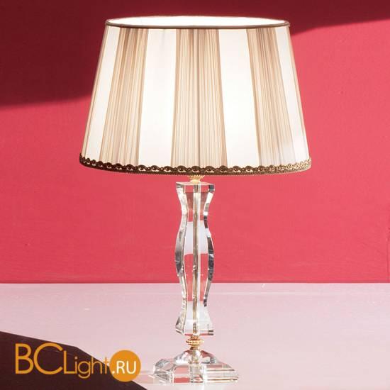 Настольная лампа Euroluce Midha Alicante LG1 Gold Clear