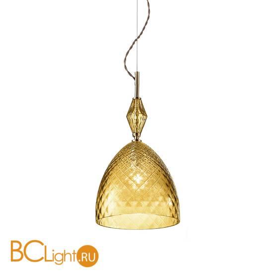 Подвесной светильник Euroluce Mood Serene S1 gold amber