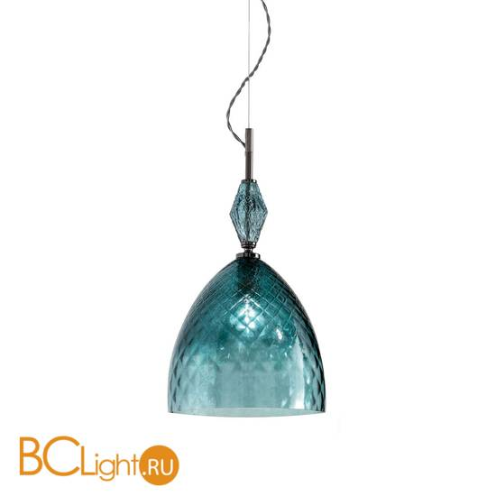 Подвесной светильник Euroluce Mood Serene S1 nichel teal blu