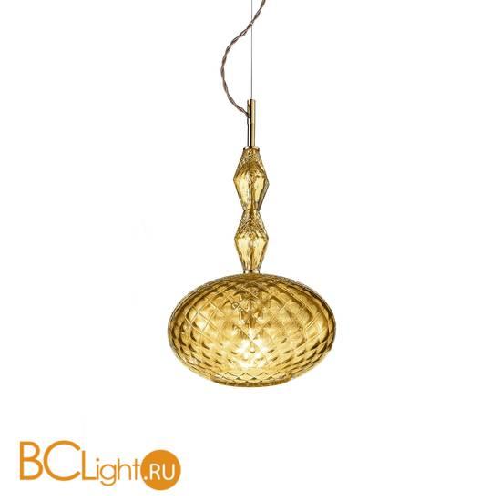 Подвесной светильник Euroluce Mood Joy S1 gold amber