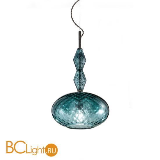 Подвесной светильник Euroluce Mood Joy S1 nichel teal blu