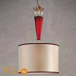 Подвесной светильник Euroluce Museum S1 Shiny gold ruby