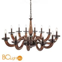 Люстра Euroluce Olympia L12 brown