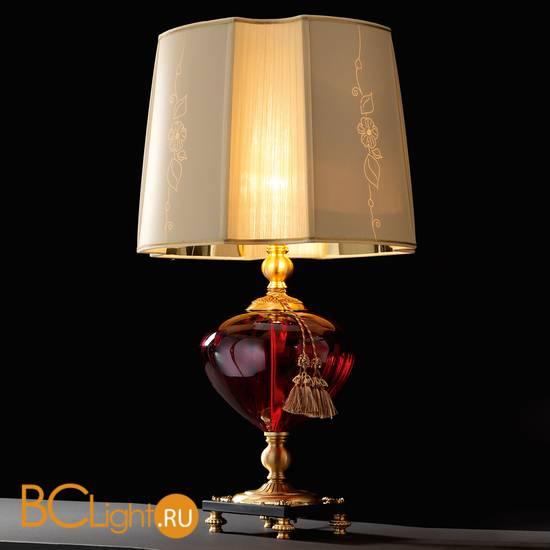 Настольная лампа Euroluce Orfeo LG1 gold Ruby