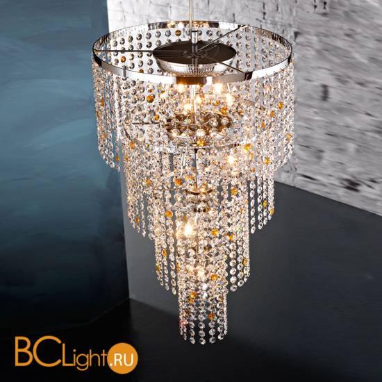 Подвесной светильник Euroluce Stars S11 silver C COLLECTION amber
