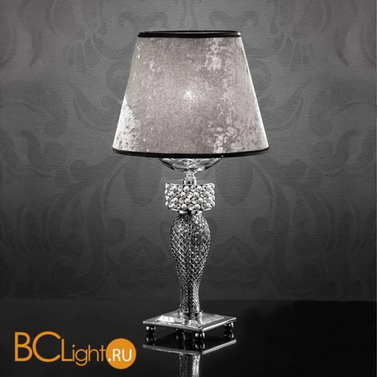 Настольная лампа Euroluce Toochic LP1 Silver Fume