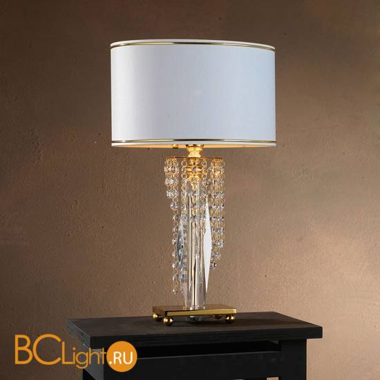 Настольная лампа Euroluce Venice Superlux LP1 gold Scholer