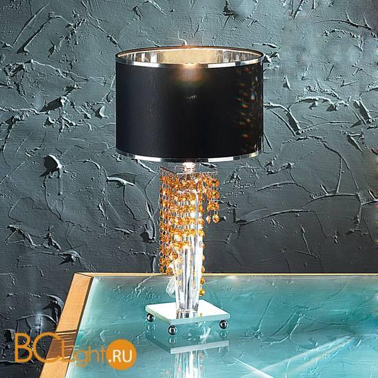Настольная лампа Euroluce Venice Superlux LP1 silver amber