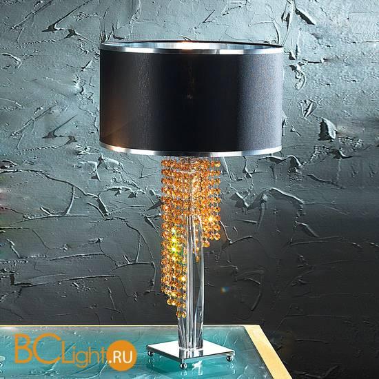 Настольная лампа Euroluce Venice Superlux LG1 silver amber