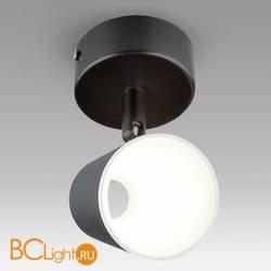 Настенно-потолочный светильник Eurosvet 9019x DLR025 5W 4200K черный матовый 5W
