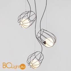 Подвесной светильник Eurosvet Basket 50138/3 черный