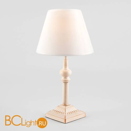 Настольная лампа Eurosvet Berlin 01061/1 белый с золотом