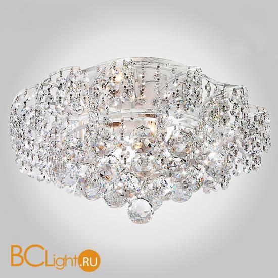 Потолочный светильник Eurosvet Charm 16017/6 белый с серебром