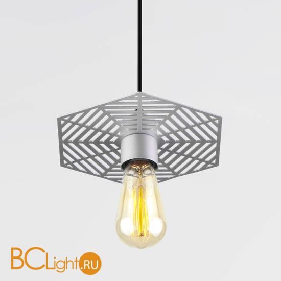 Подвесной светильник Eurosvet Creto 50167/1 серебряный