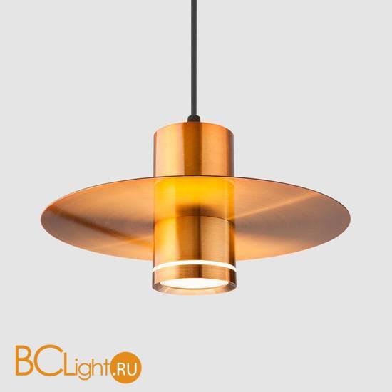 Подвесной светильник Eurosvet Disco 50155/1 LED бронза