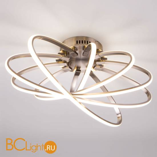 Потолочный светильник Eurosvet Evia 90100/5 сатин-никель 95W