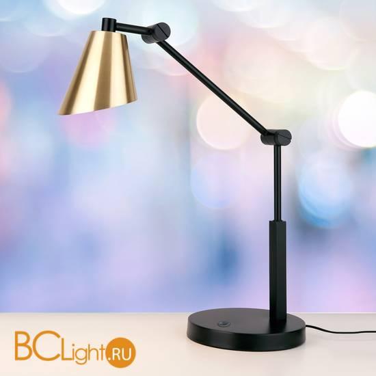 Настольная лампа Eurosvet Fabula сатинированное золото (TL70100) 6W